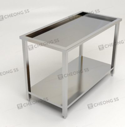 2-TIER INSET WORK TABLE
