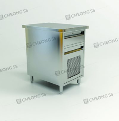 CASHIER CABINET W CPU COMPARTMENT