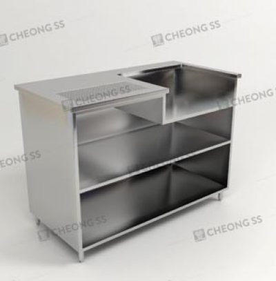 COFFEE MAKING COUNTER W TOASTER COMPARTMENT