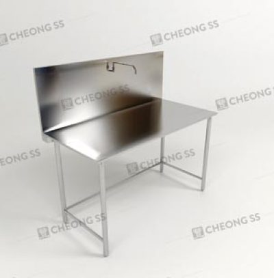 COOKING TABLE W ATTACHED FAUCET