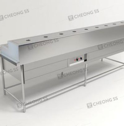 COUNTER ECONOMICAL RICE FOOD WARMER TABLE