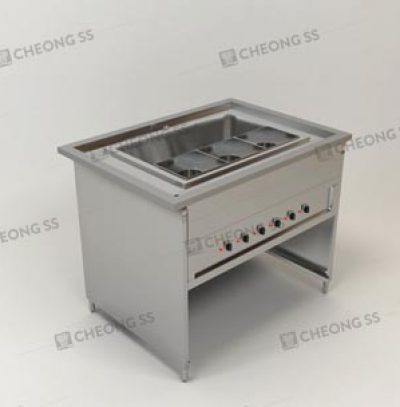 ELECTRICAL TRIPLE HOLE NOODLE COOKING COUNTER