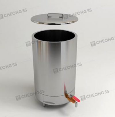GAS ROUND SOUP BOILER