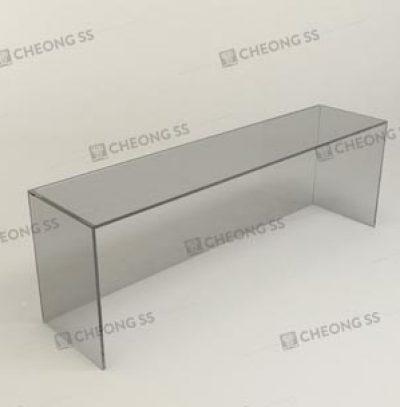 GLASS BOX DISPLAY SHOWCASE