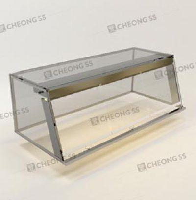 GLASS SALAD DISPLAY SHOWCASE