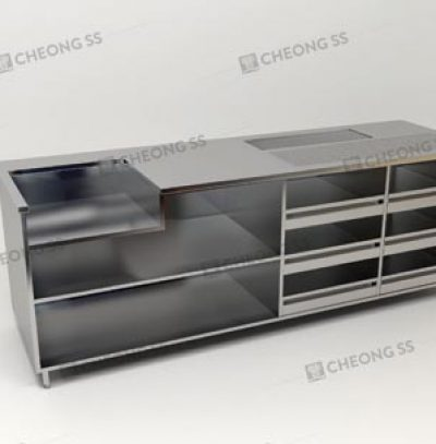 MULTI-FUNCTION COFFEE MAKING COUNTER