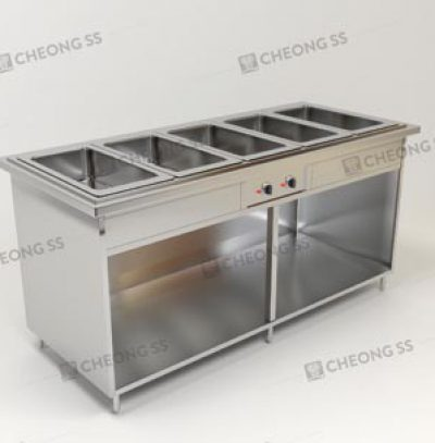 QUINTUPLE FULL-SIZE GN BAIN MARIE