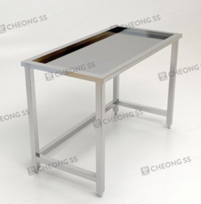 SINGLE TIER INSET WORK TABLE