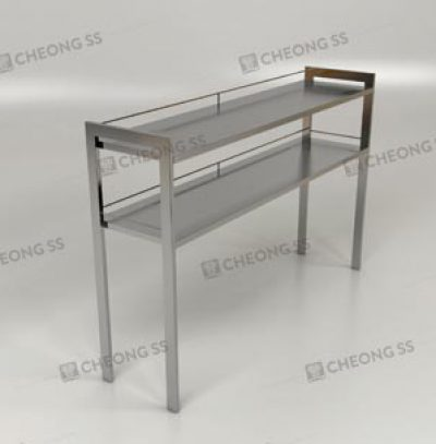 STANDARD COUNTER-TOP SHELVING RACK