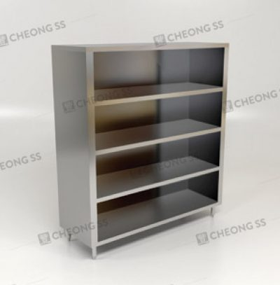 UPRIGHT OPEN STORAGE CABINET