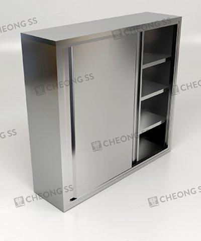 Cheong SS | 6-tier 2 Sliding Door Storage Cabinet